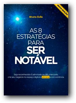 E-book de Bruno Ávila sobre Marketing Digital | Fonte: site Ser Notável