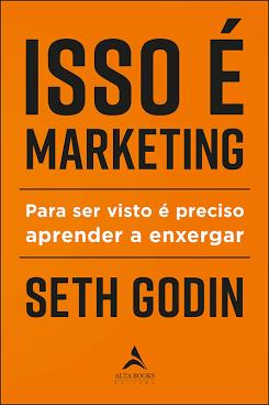 Livro de Seth Godin, um dos principais nomes do Marketing Digital | Reprodução