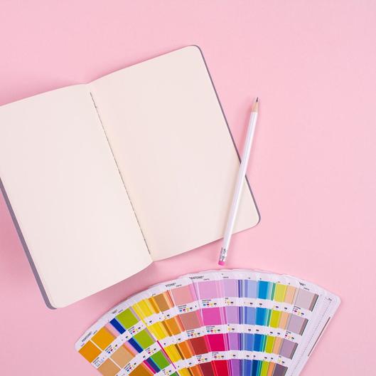 Crie uma paleta de cores para trabalhar com Design e Marketing Digital | Foto: Keila Hötzel