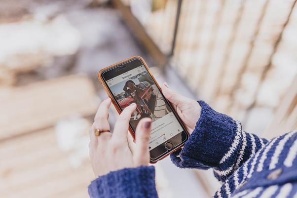 No Instagram, o foco é o compartilhamento de imagens e vídeos | Foto: Kate Torline